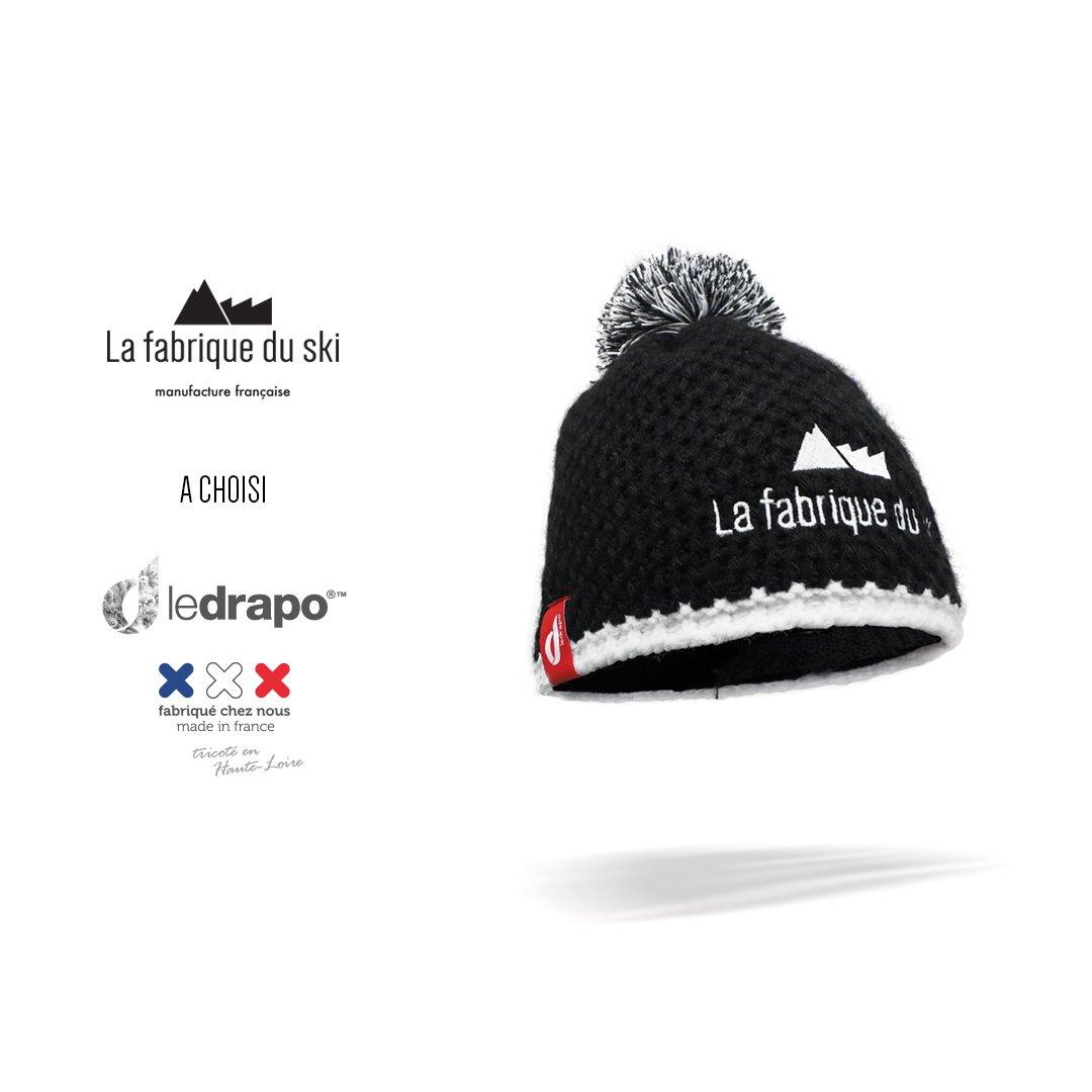 Le bonnet La Fabrique du Ski par Ledrapo 100% Made in France