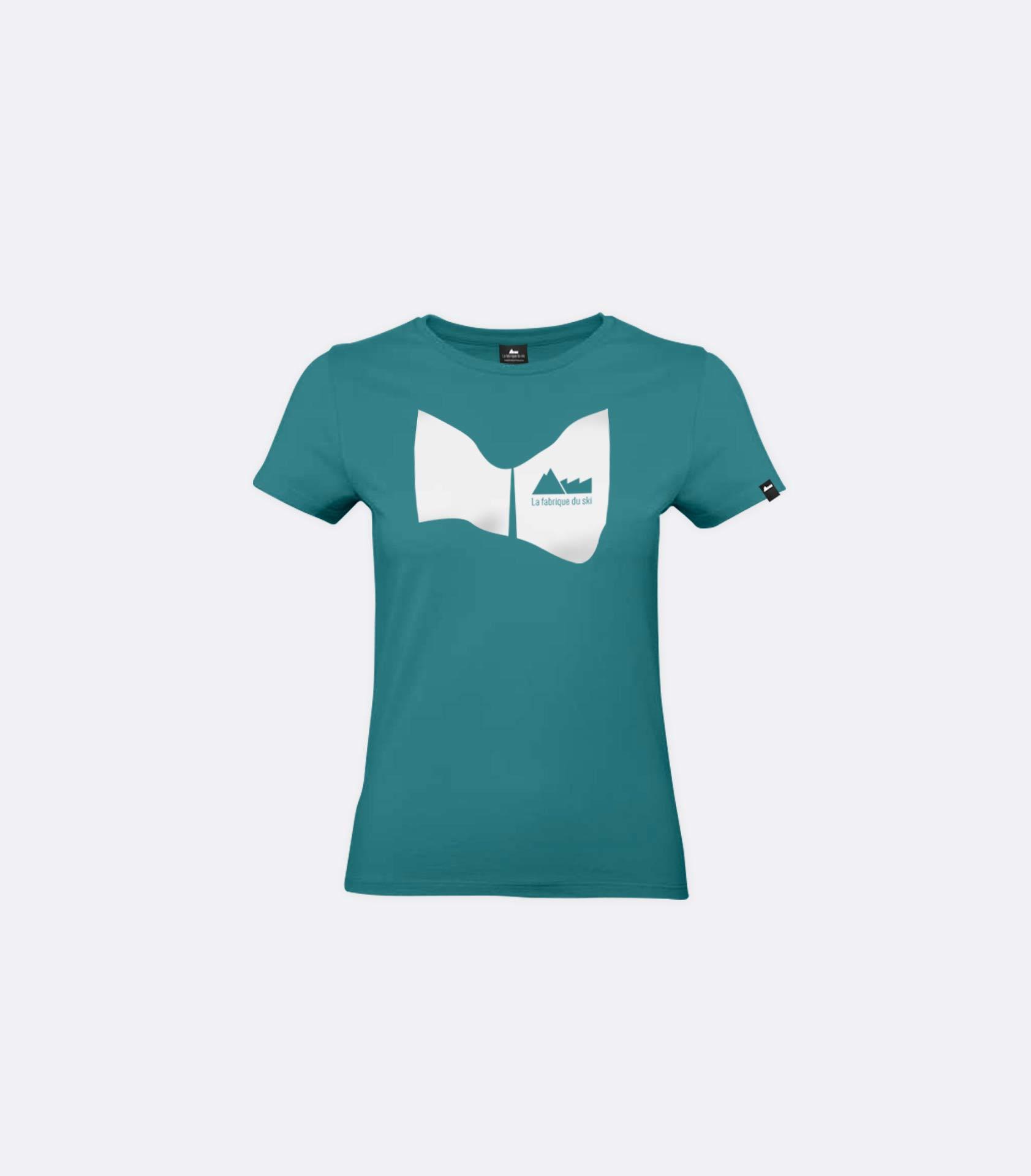 T-shirt turquoise   La Fabrique du Ski 012863efcd6b